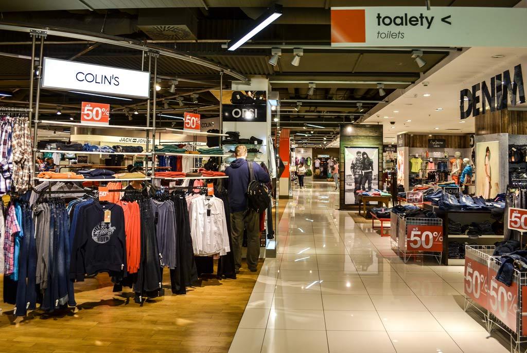 Магазины в Праге. Торговый дом «Tesco My - Národní»