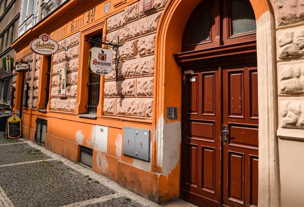 Пивные Праги. Пивной ресторан и винарня «U Karla IV»