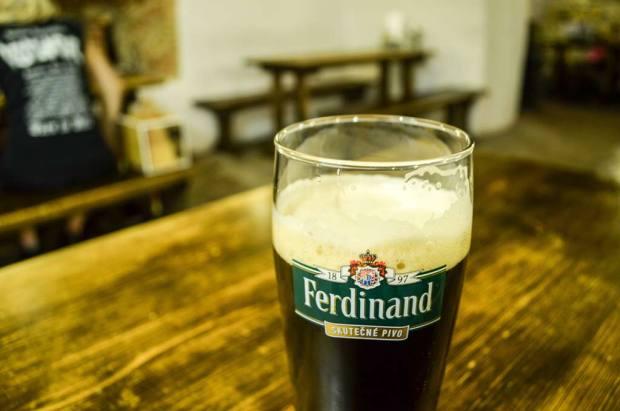 Пивные Праги. Пивной ресторан «Ferdinanda Malostranská»