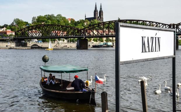 Транспорт в Праге. Лодка