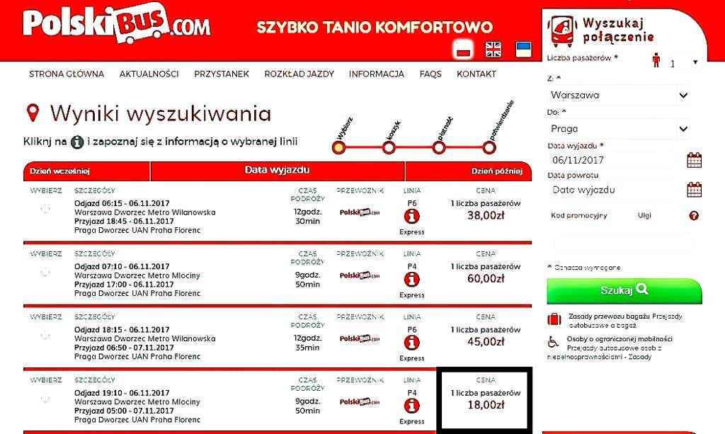 Как добраться до Праги дешево. Автобус в Прагу