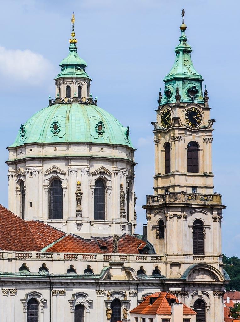 Достопримечательности Праги. Мала Страна. Церковь Св. Николая