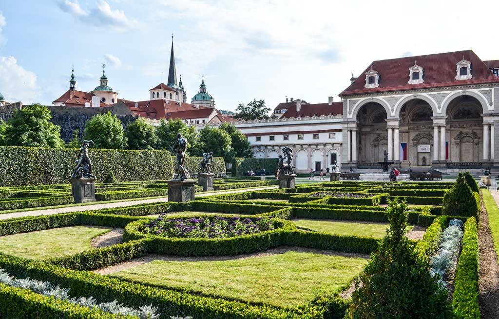 Прага. Вальдштейнский сад