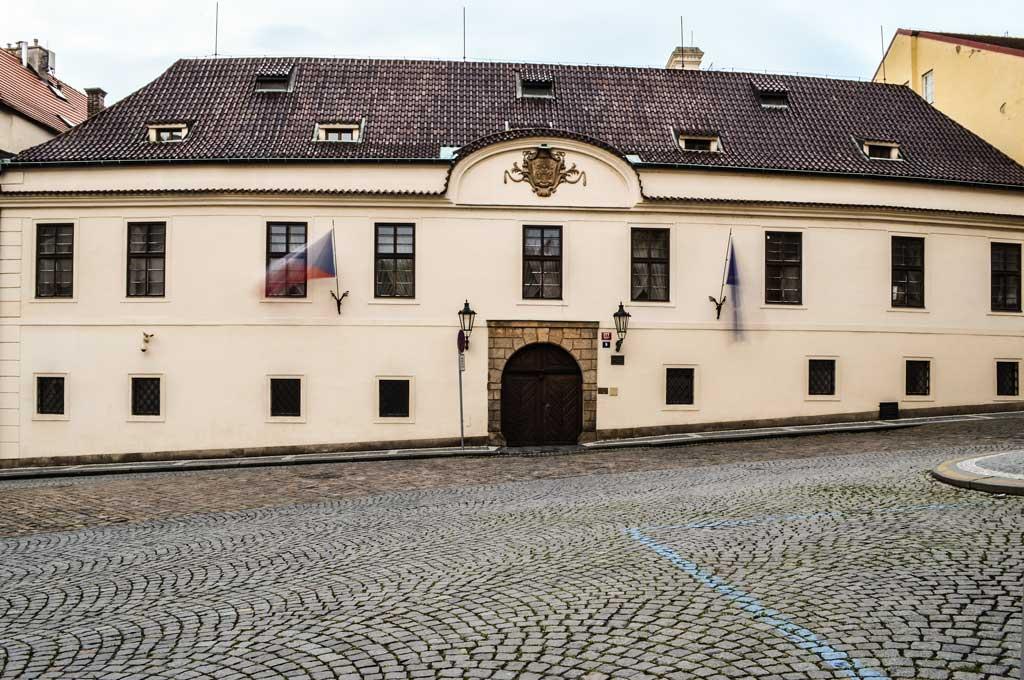 Прогулка по Праге самостоятельно. Грзанский дворец