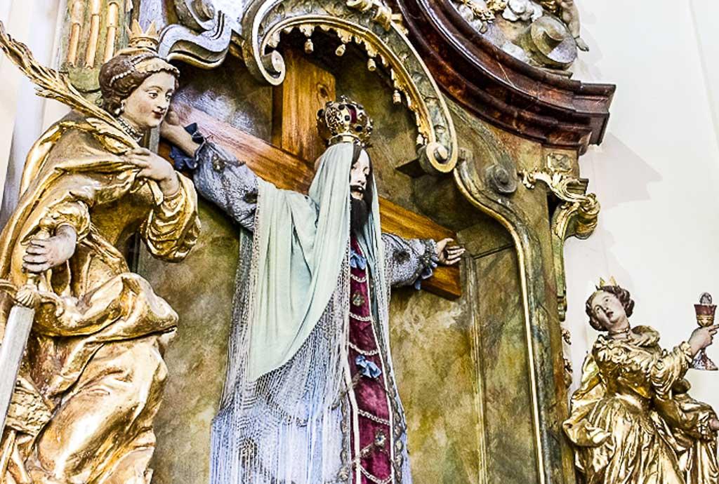 Лоретанский монастырь. Святая Староста