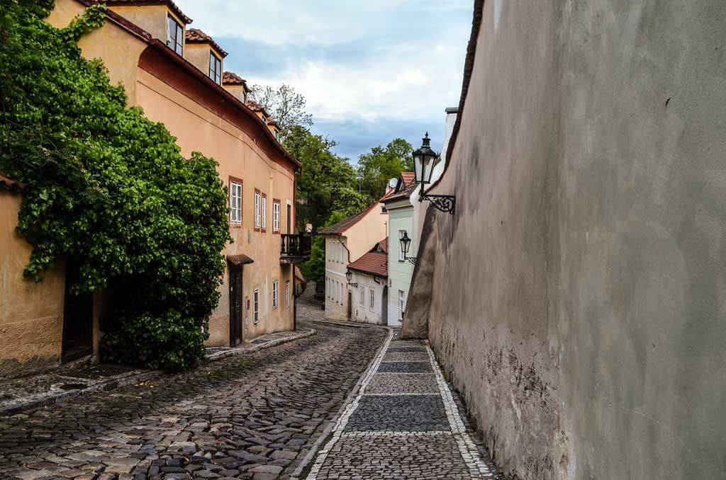 Градчаны в Праге. Чернинская улица