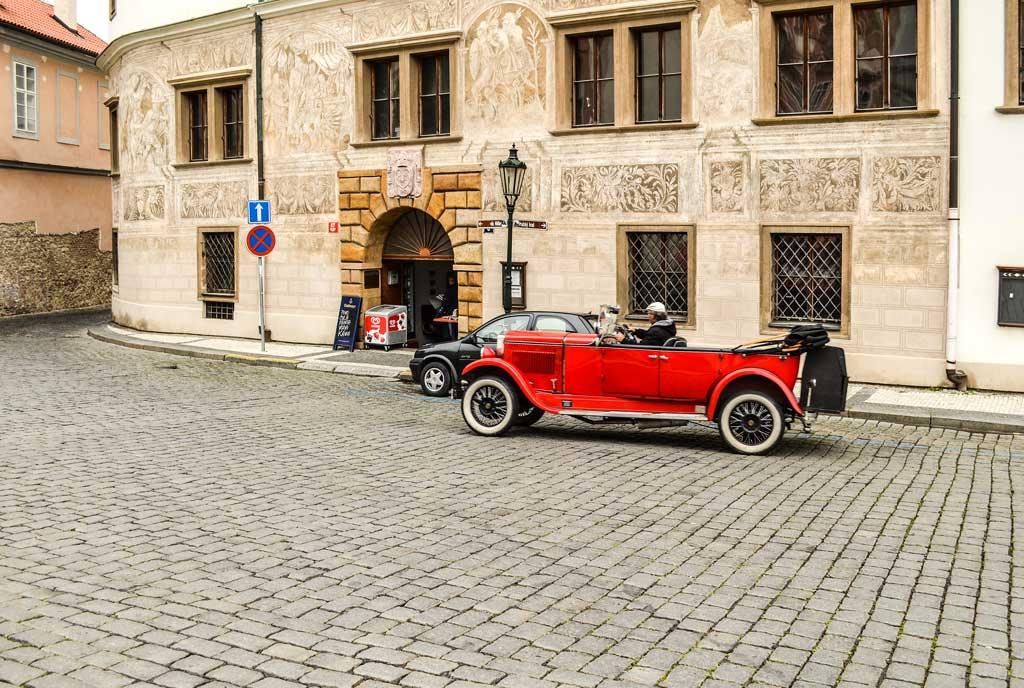 Градчаны в Праге. Мартиницкий дворец
