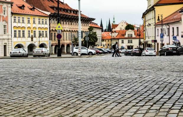 Прага. Площадь Погоржелец (Pohořelec)