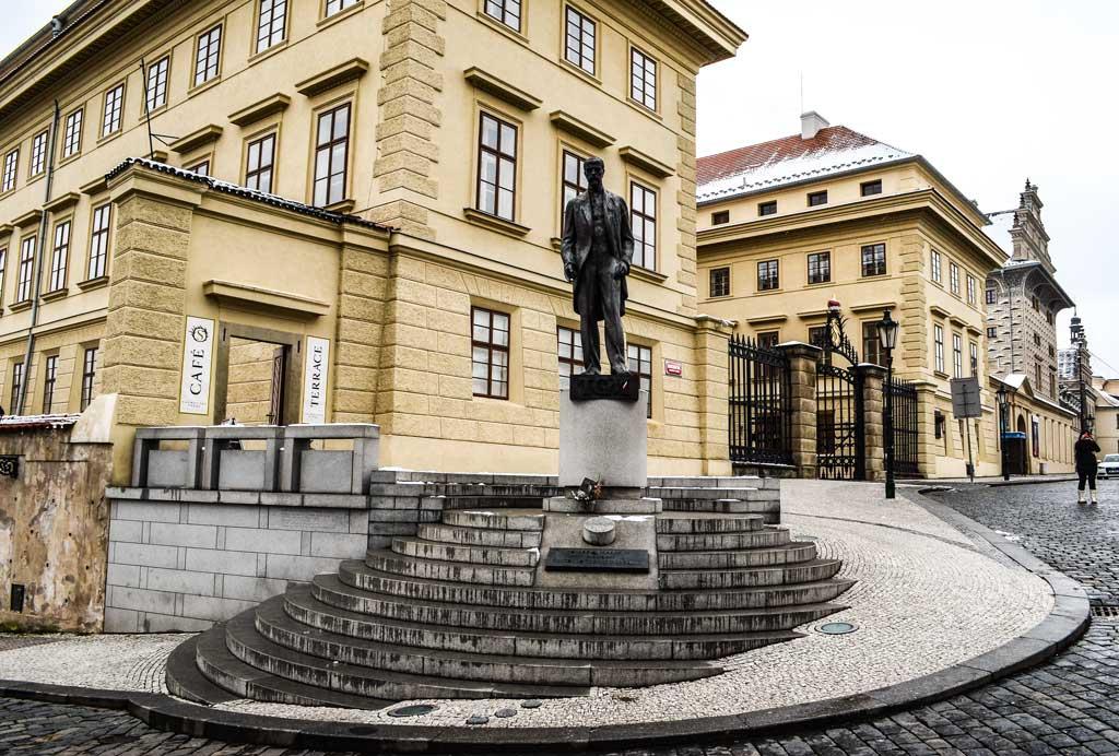 Градчанская площадь. Салмовский дворец