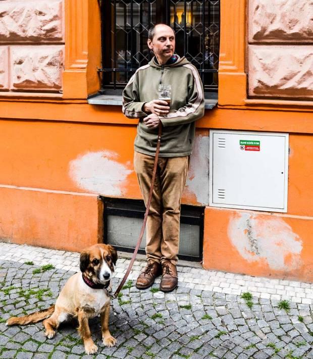 Прага. Пивной ресторан «U Karla IV»