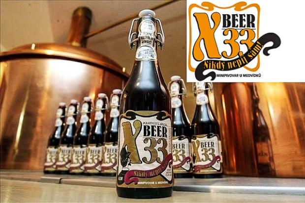 Самое крепкое пиво мира чешский «X-Beer 33°»