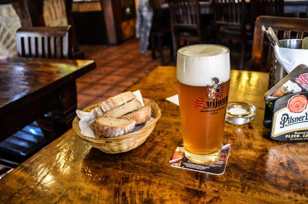 Чешское пиво. Классификация. Светлый непастеризованный лагер «Svijanský Máz 11°»