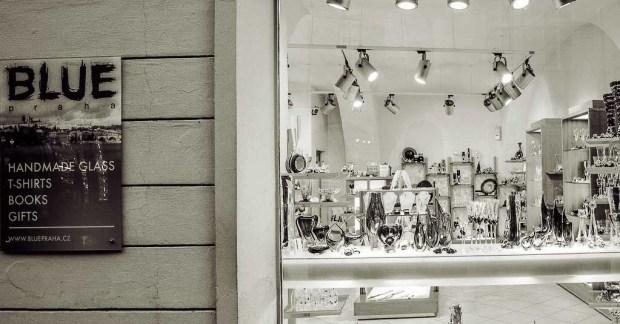 Шоппинг в Праге. Магазин сувениров «Blue Praha»