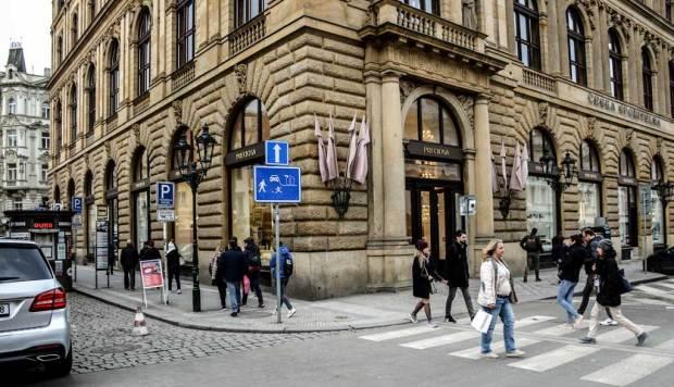 Прага. Магазин «Preciosa»