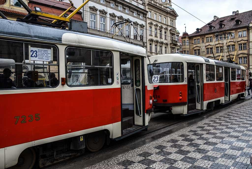 Пражский трамвай