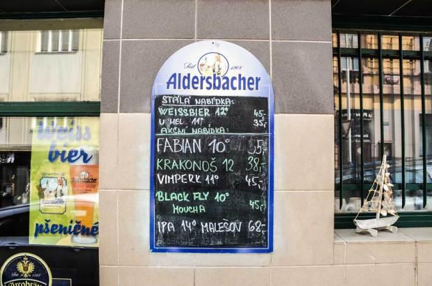 Цены на крафтовое пиво в Жижкове