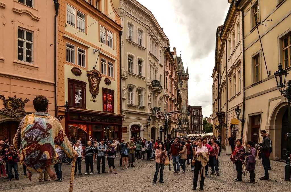 Прага. Улица Целетна (Celetná)