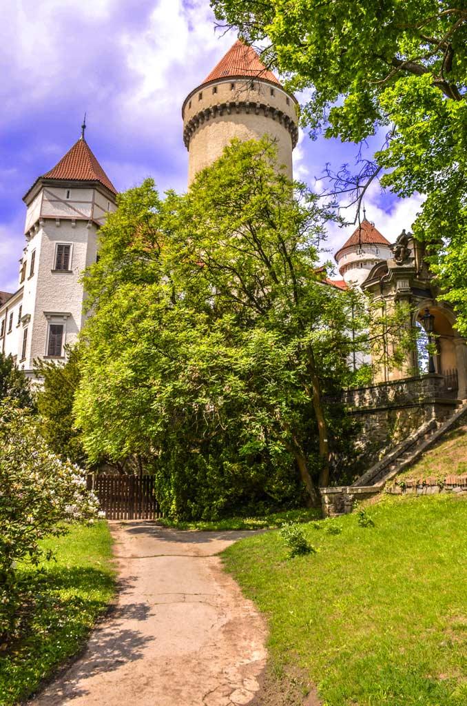 Замок Конопиште. Среднечешский край. Богемия