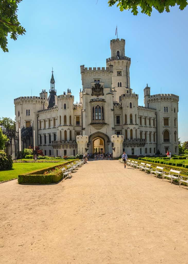 Замок Глубока-над-Влтавой. Южночешский край