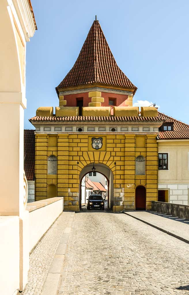 Чески-Крумлов. Будеёвицкие ворота