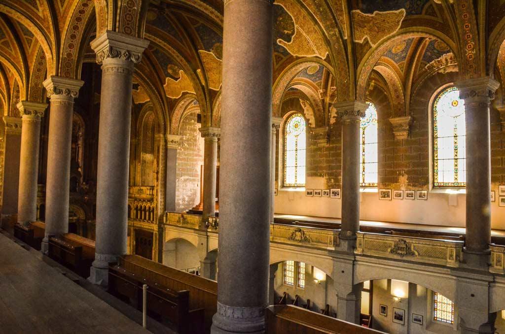 Большая синагога. Внутреннее убранство