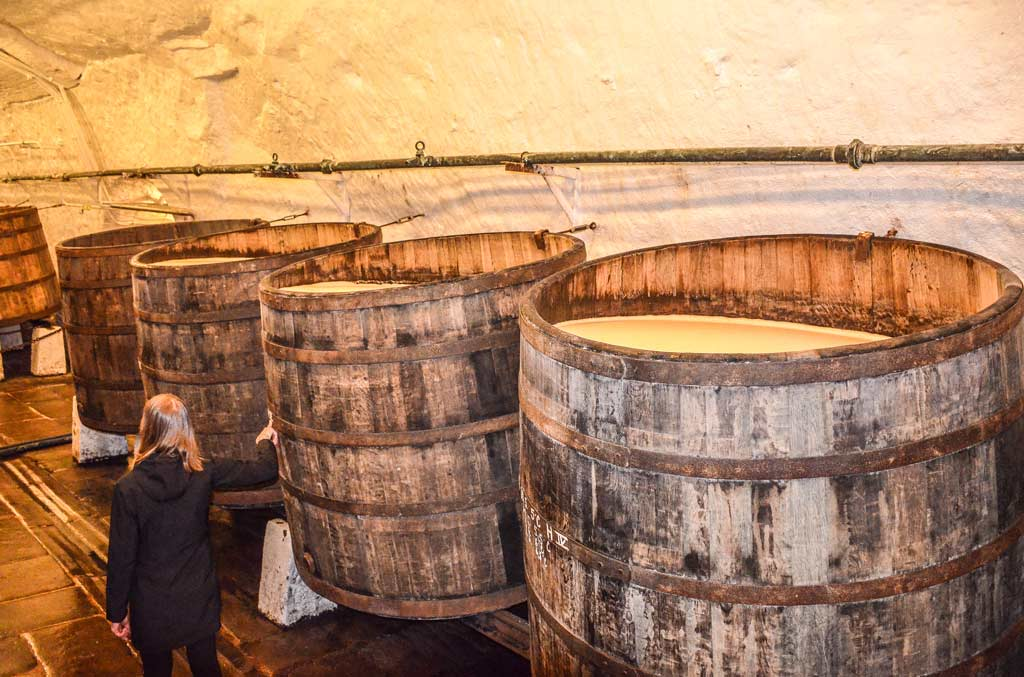Подвалы пивоваренного завода «Plzeňský Prazdroj»