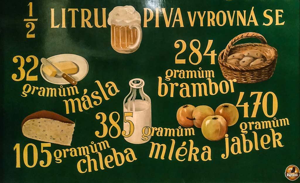 Велко-Поповицкий пивовар. Калорийность местного пива