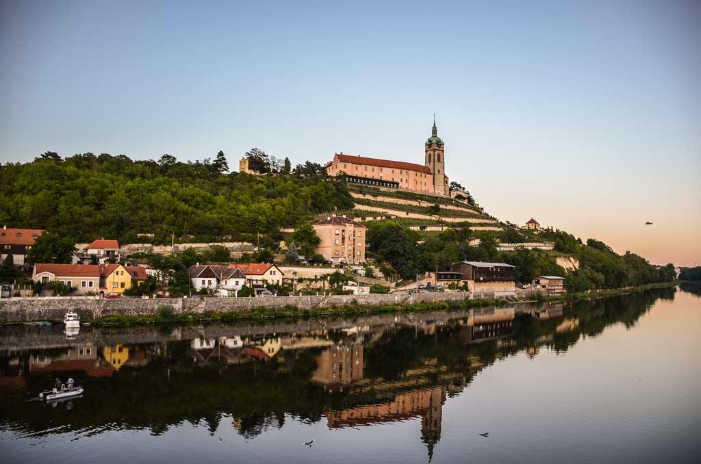 Замок Мельник. Среднечешский край. Богемия