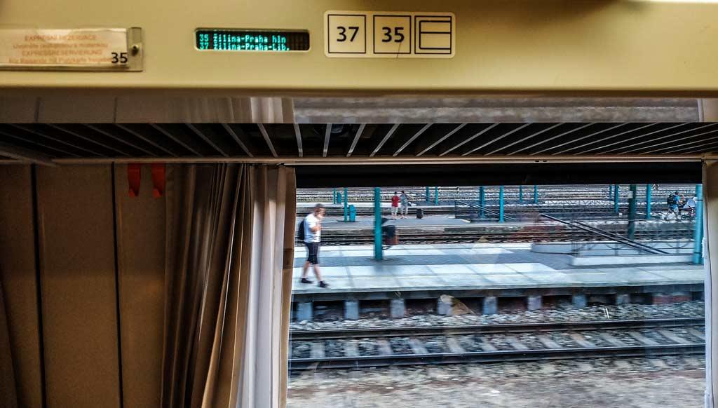 Бронь мест в экспрессе Чешских железных дорог