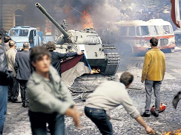 Трагические события 1968 года в Праге