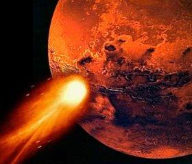 Mars'a 2014'te Kuyruklu Yıldız Çarpabilir