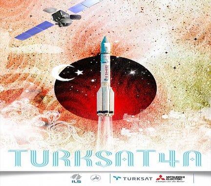 Türksat 4A Uzaya Fırlatıldı