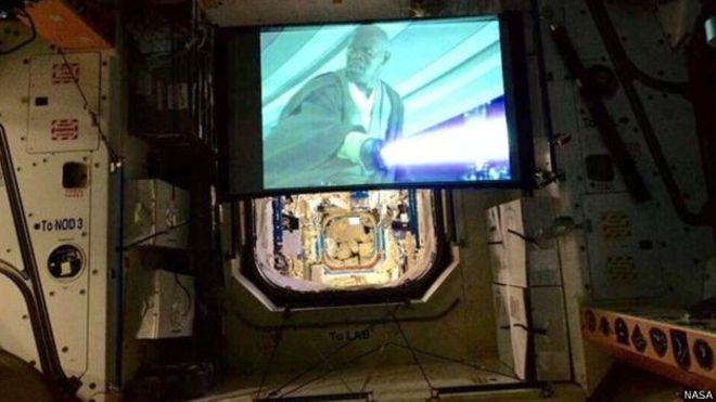 Star Wars Filmi Gerçekten Uzayda
