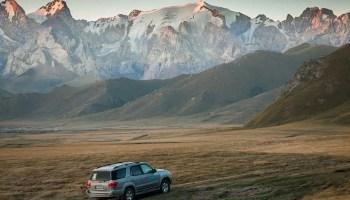 off road Kyrgyzstan 4x4