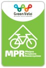 Logo Miejsce Przyjazne Rowerzystom GREEN VELO