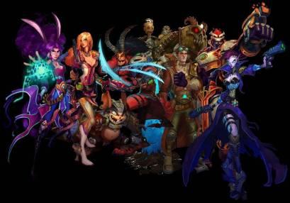 The eight races of Wildstar