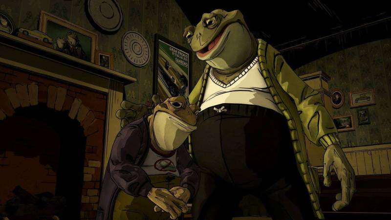 Mr. Toad and his son