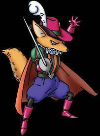 the fencing fox