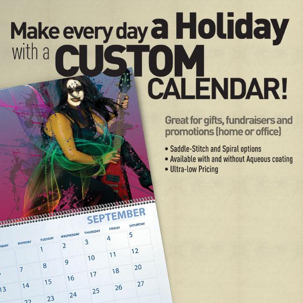 Custom Calendar Printing Services