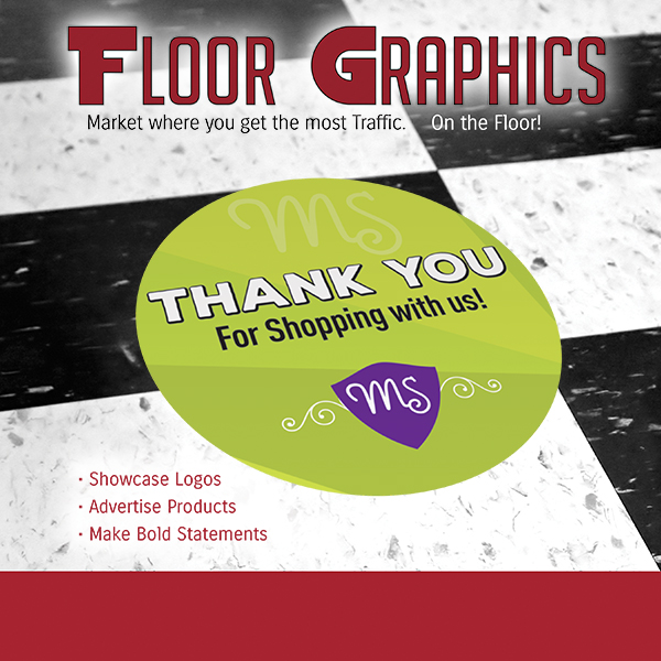The Goodness of Custom Floor Graphics Printing