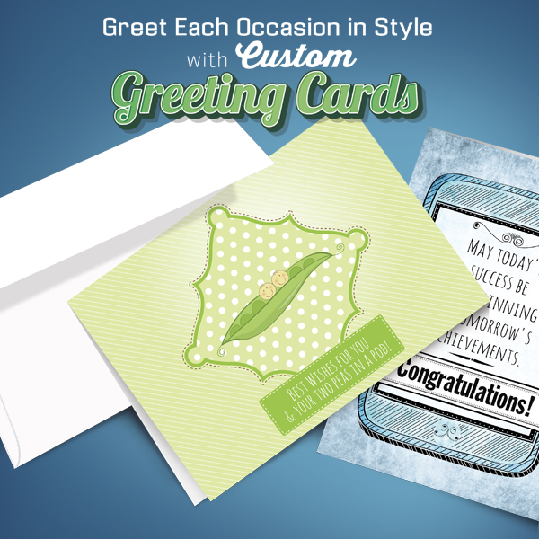 Print Custom Greeting Cards and Thank You Notes