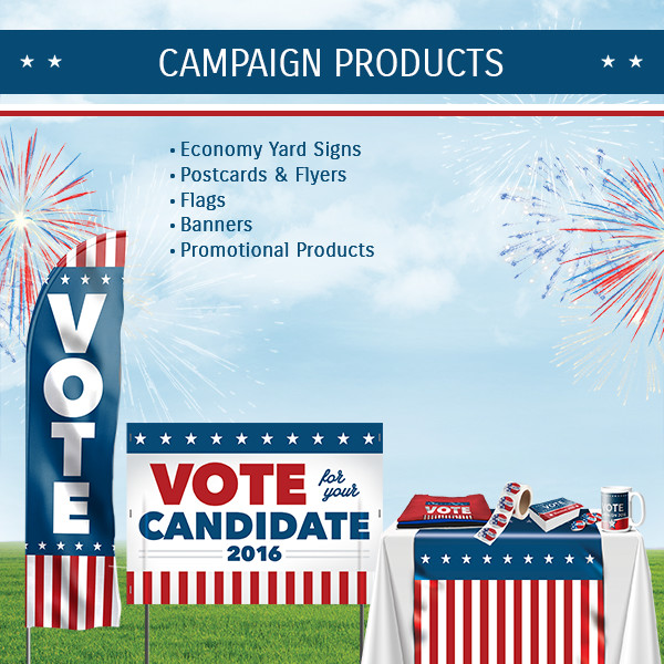 Election Campaign Promotional Items – Custom Political Printing