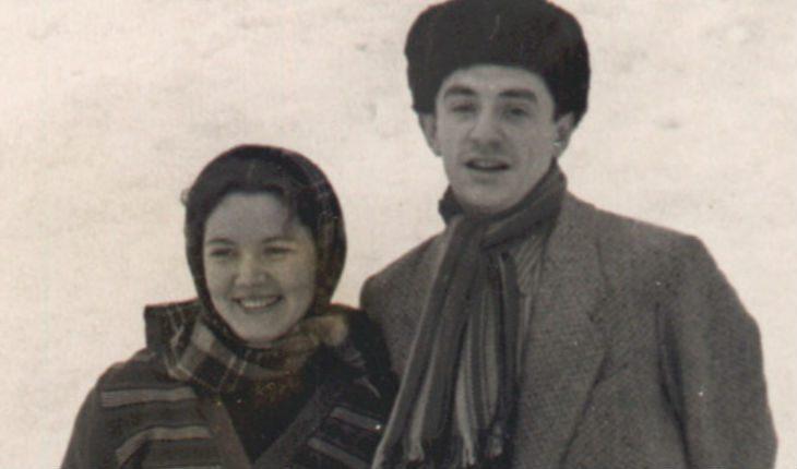 Марк Захаров и Нина Лапшина в молодости