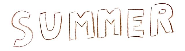 夏SUMMERタイトル
