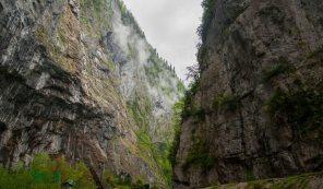 Юпшарский каньон – «Каменный мешок», Абхазия*