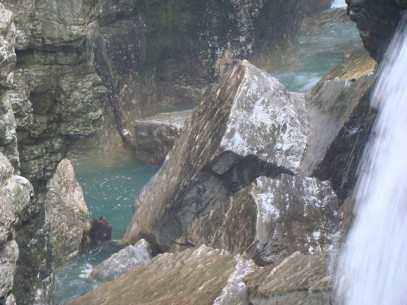 Мартвильские каньоны - впечатляющее место со следами динозавров