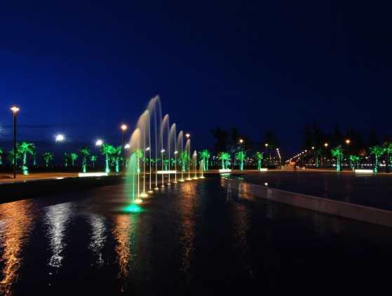 Очарование и красота ночного Батуми