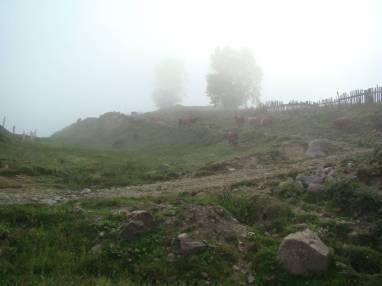 В разведку через труднодоступный перевал Годердзи