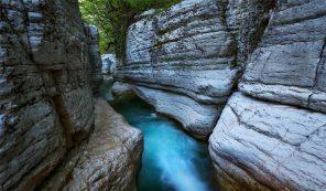 Мартвильские каньоны - сокровище Грузии