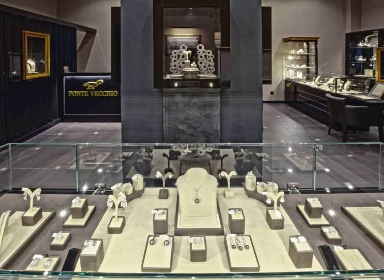 Эксклюзивный бутик ювелирных украшений Ponte Vecchio